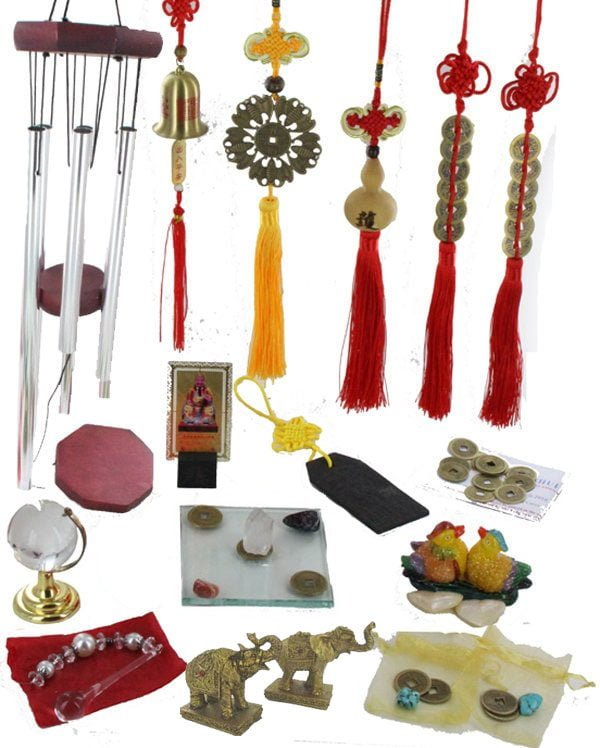 Feng Shui Cures and Enhancers kit for 2018