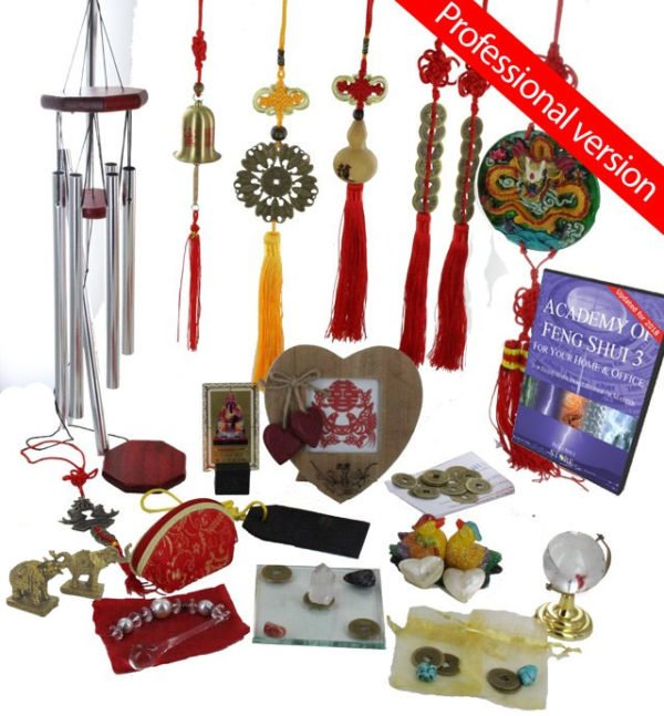 2018 Feng Shui cures and enhancers kit with software