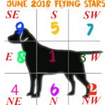 June 2018 flying star chart