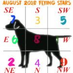 August 2018 Flying Star chart