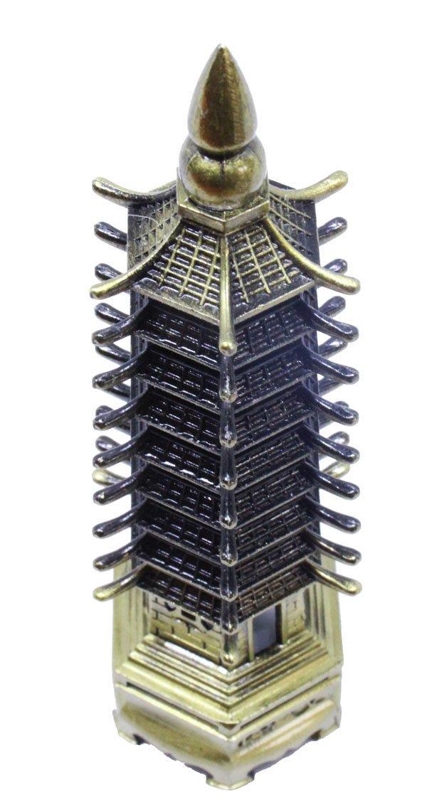 9 Tier Wen Chang Pagoda overhead