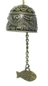Heng Lung Fu Dual Dragon bell charm
