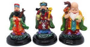 Three Immortals statue