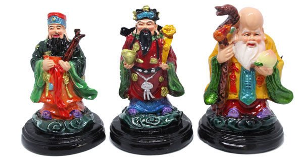 Three Immortals statue