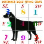 December 2018 Flying star chart