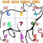 June 2019 Flying Star chart