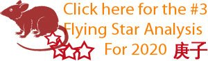 Click here for the number 3 Flying star analysis for 2020