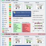 Tong Shu Almanac for Friday 10th - Tuesday 14th April 2020
