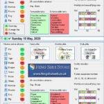 Tong Shu Almanac for Friday 8th - Monday 11th May 2020