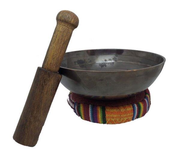 Brass Feng Shui singing bowl
