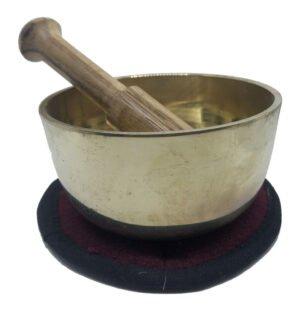 Metal Feng Shui singing bowl
