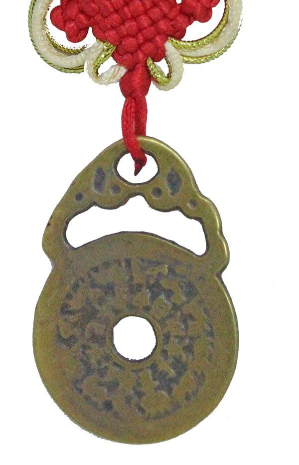 Bian fu zhuang suo fu zhou Bat lock amulet