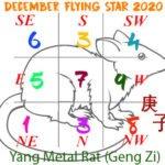 December 2020 Flying Star chart