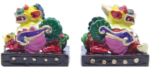 Pair of Bi You Pi Yao statues